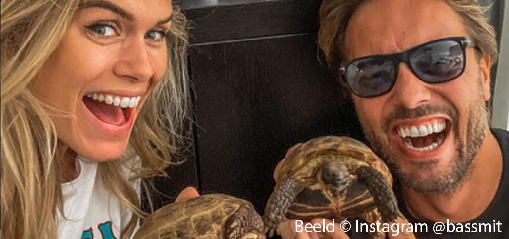 Silvana sponsort schildpad-ei actie Bas Smit